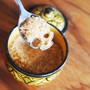 Skull Sugar-spoon : Sugar is bad - enforce portion control.