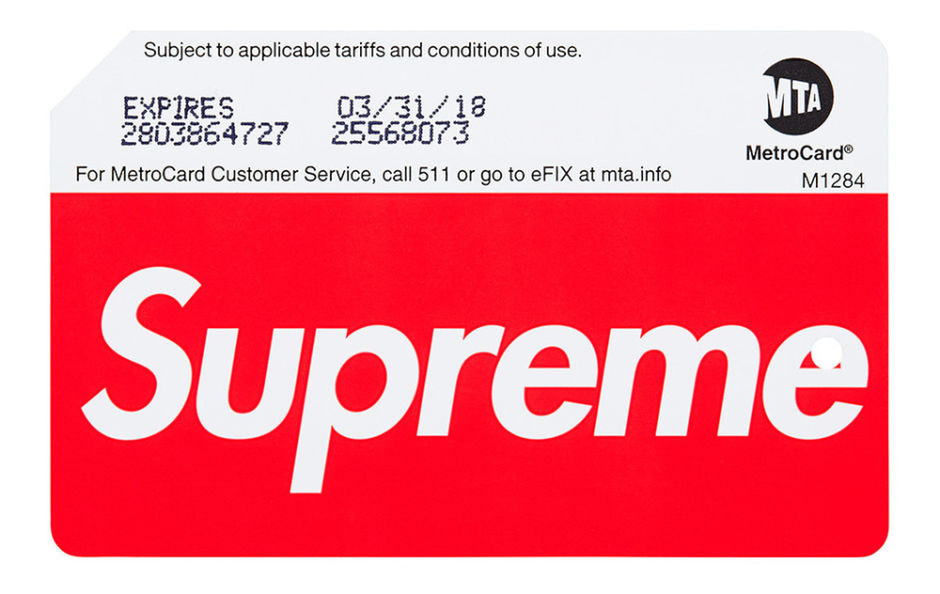 Supreme MetroCards Can Be Purchased at Subway Stations in NYC - Freshness Mag