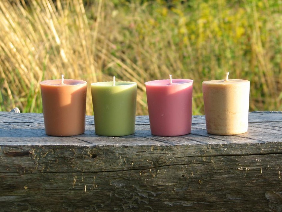 A Scents Of Vermont Sampler Of Handpoured 2oz Votives Made In Vermont | Luulla