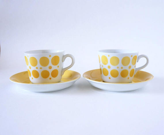 Retro Arabia Finland Pop Goran Back Coffee Cups 2 sets
