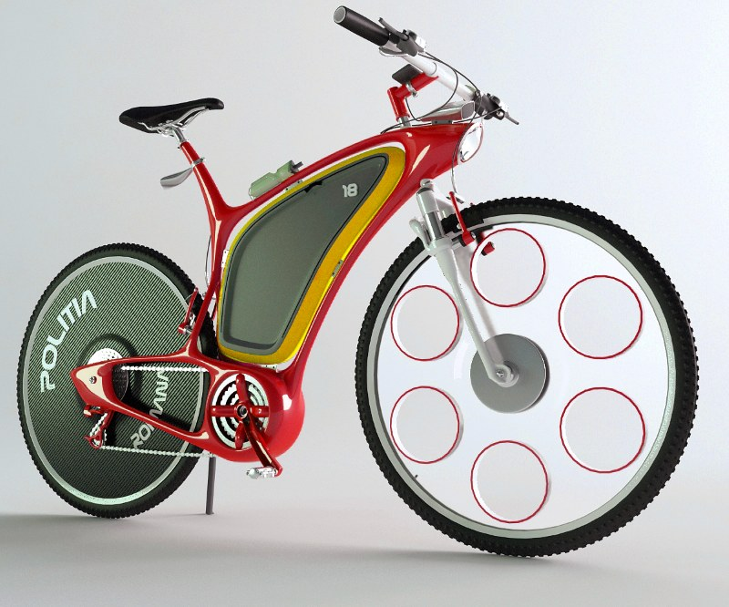 Bike Future Concept for Police - Every Cool Concepts on EnConcepts