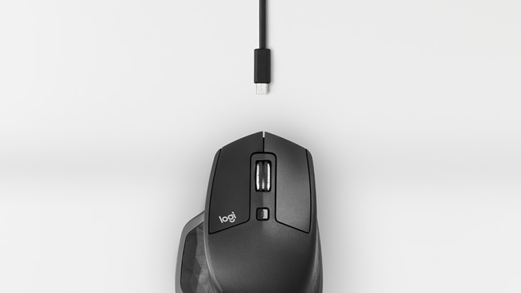Logicool MX Master 2 Wireless Mouse for Power Users