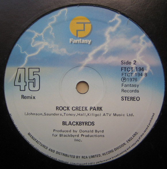 Images for Blackbyrds, The - Don't Know What To Say / Rock Creek Park