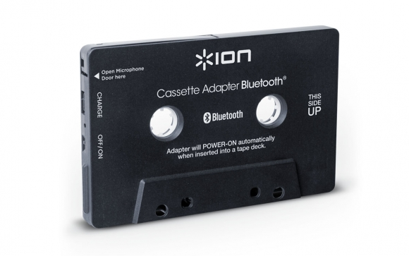 Cassette Adapter Bluetooth - Bluetooth Music Receiver for Cassette Decks - ION Audio - Technology made simple: app accessories, portable audio, and more