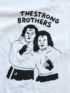 LOVE online store|MEN | TACOMA FUJI RECORDS THE STRONG BROTHERS (ice grey)