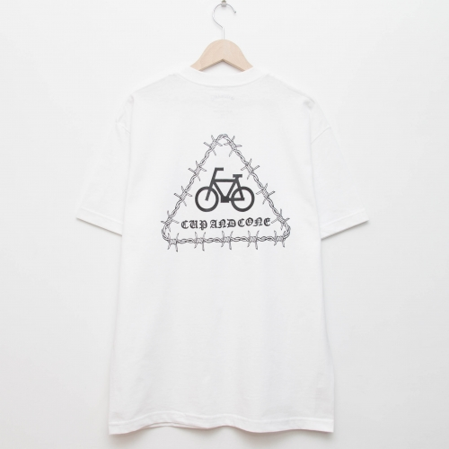Barbed Tri Logo Tee - cup and cone WEB STORE