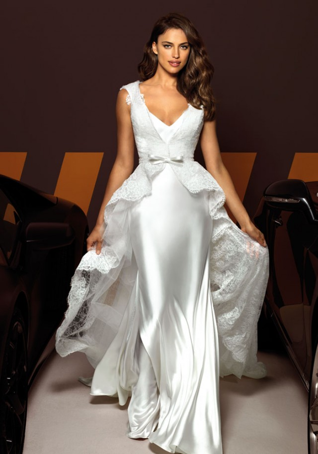 Irina Shayk for Alessandro Angelozzi Couture 2013 ‹ ALL FOR FASHION DESIGN