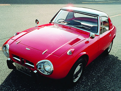 Toyota Sports 800 : 1969 | Cartype