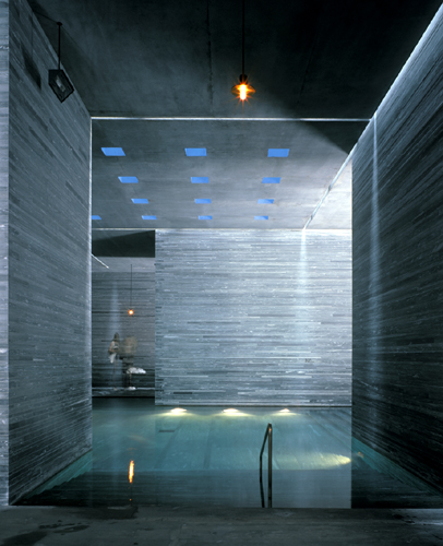 Hotel Therme Vals: Architecture