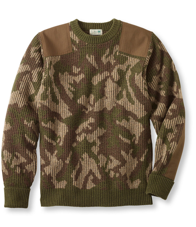 Commando Sweater, Camouflage Crewneck