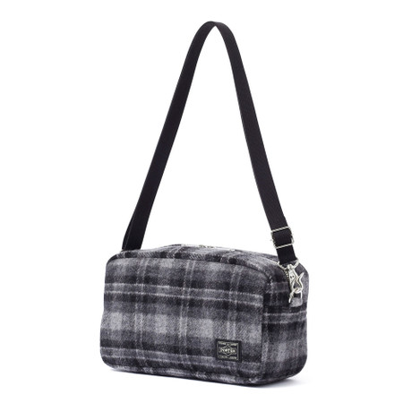 """""""LESSON"""" 2WAY POUCH GREY"""