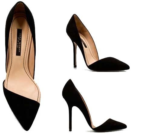 Zara Asymmatric Shoes