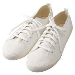 Good Fit Sneakers White - Womens - Muji - Polyvore