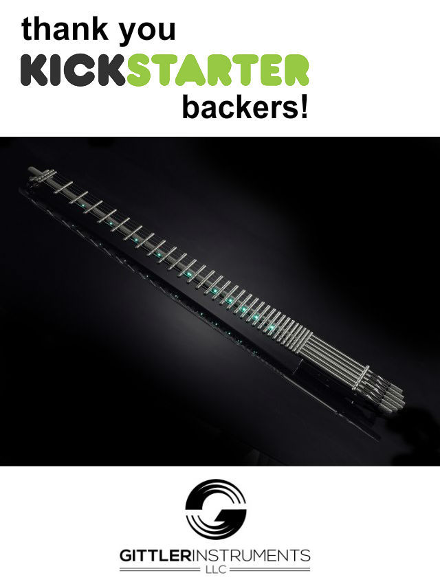 The World's First All Titanium Guitar - With No Body Or Neck by Russell Rubman — Kickstarter