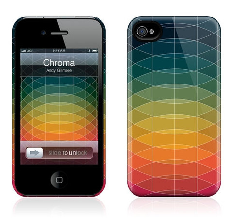 Chroma iPhone HardCase by Andy Gilmore | Goods | The Ghostly Store