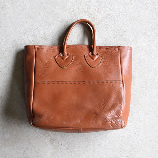 """1980's """"L.L.BEAN"""" LEATHER TOTE BAG 
