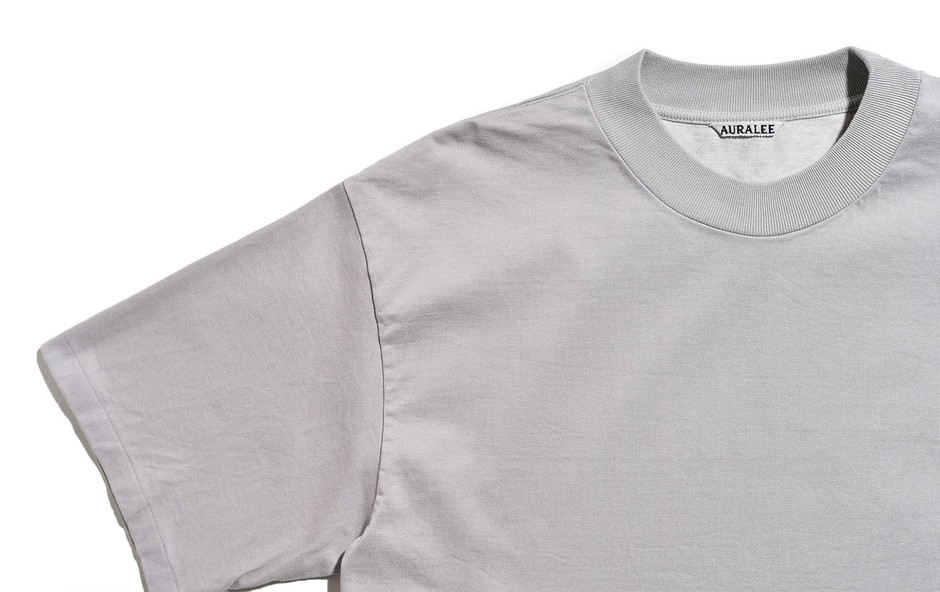 Stand Up Tee-Pale Gray