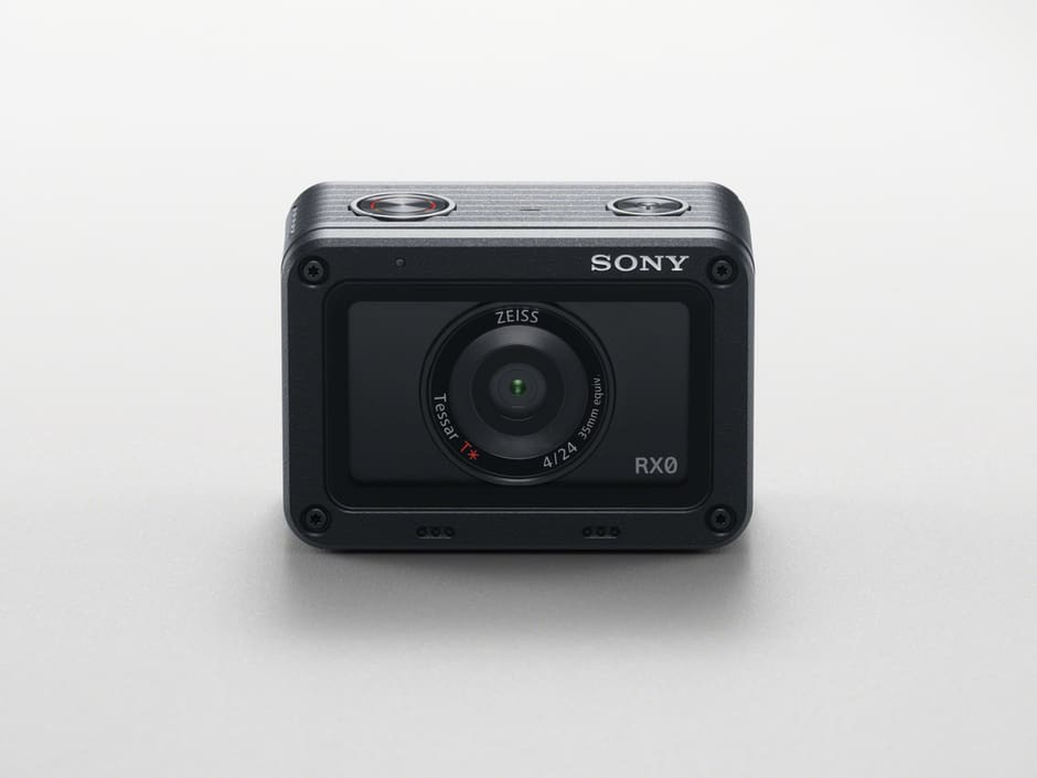 Sony launches ultra-compact, robust and waterproof RX0. Taking... - Sony Europe