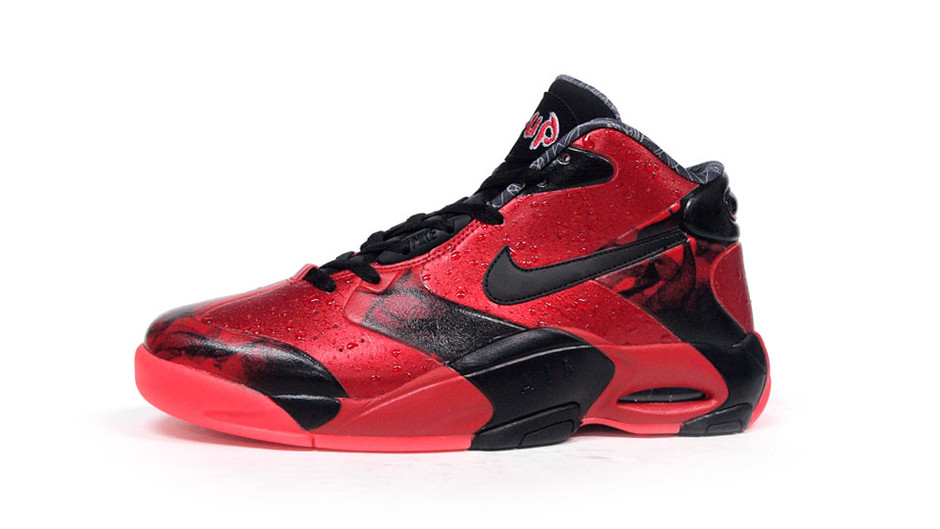 AIR UP 14 「LIMITED EDITION for NONFUTURE」 RED/BLK ナイキ NIKE | ミタスニーカーズ|ナイキ・ニューバランス スニーカー 通販