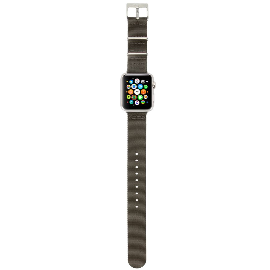 Nylon Nato Band for Apple Watch 38mm Black Designed by Incase