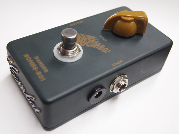 BOMBS B-01 Clean Booster 新発売!|COMBAT-GUITARS社長のブログ