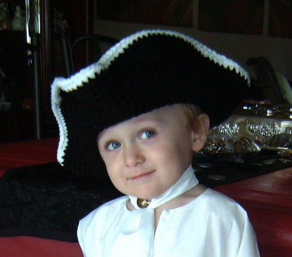 Pirate Hat and Eye Patch by melanieganson on Etsy