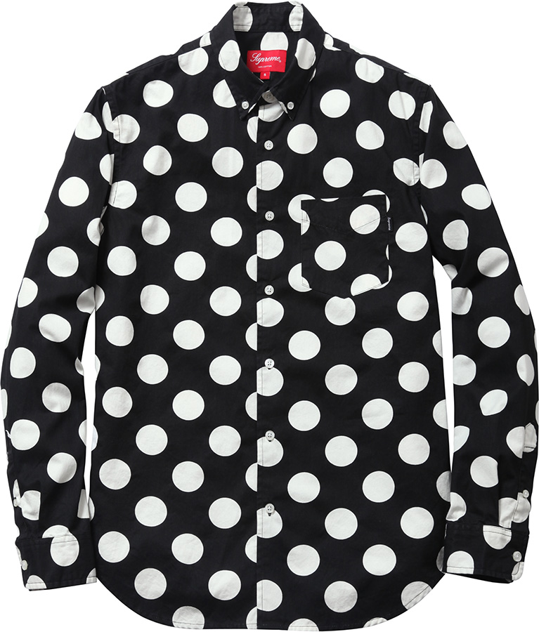 Supreme Big Dot Shirt