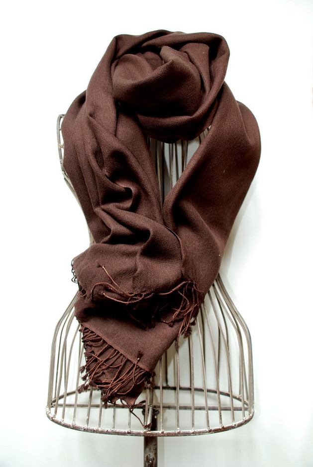 wear-brown-pure-cashmere-pashmina-scarves-how-to-wear-pashmina-scarves.jpg (669×1000)