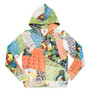Leo Lionni Long Sleeve Zip Parka(Leo Lionni Alexander and the Wind up Mouse Pattern)|デザインTシャツストア グラニフ -Design Tshirts Store graniph-
