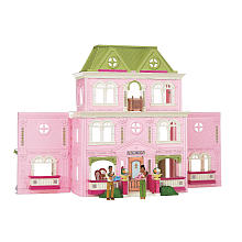 """Fisher-Price Loving Family Dollhouse with Bonus - African American - Fisher-Price - Toys """"R"""" Us"""