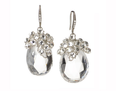 Dew Drop Earrings by Elizabeth Bower | Elizabeth Bower