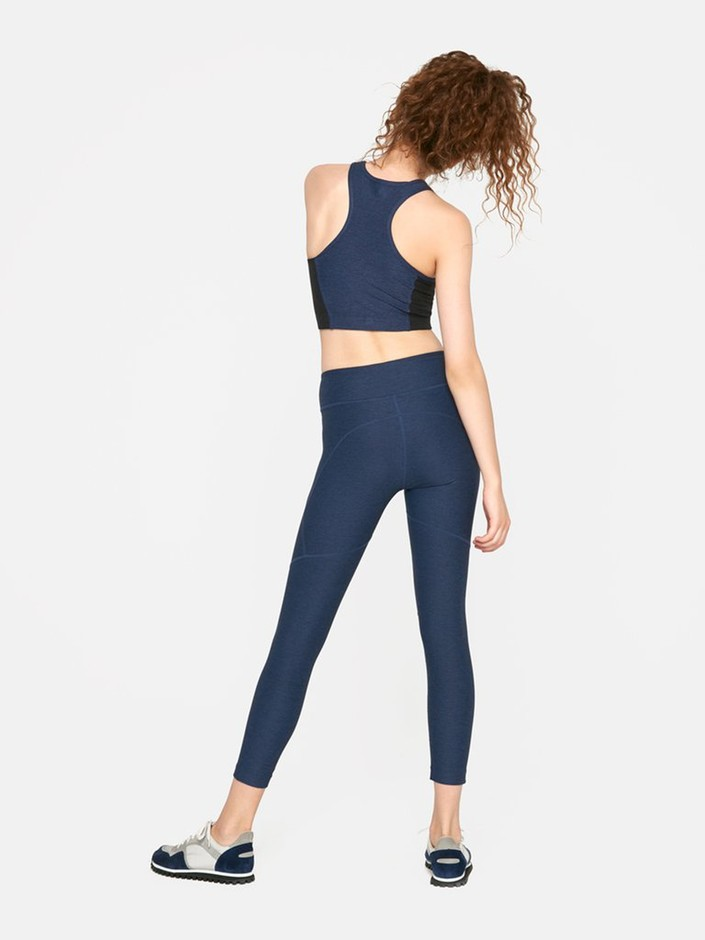 3/4 Warmup Legging - Womens Compression Tights – Outdoor Voices