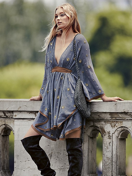 Free People Celestial Embellished Mini at Free People Clothing Boutique
