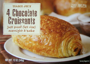 Best Thing Ever: Trader Joe's Chocolate Croissants | Nothing But Bonfires