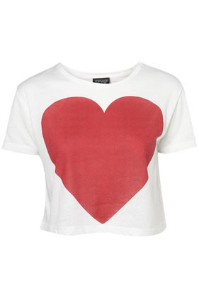 Heart Crop - Topshop USA