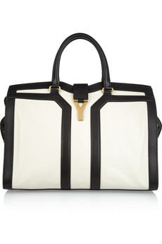 Yves Saint Laurent | Large Cabas Chyc leather tote | NET-A-PORTER.COM