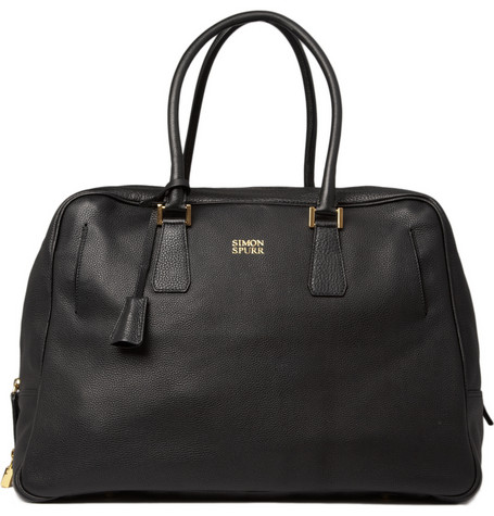 Simon Spurr Leather Travel Bag | MR PORTER