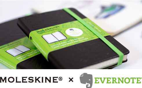Evernote Smart Notebook by Moleskine (Pre-order) - Evernote Smart Notebook by Moleskine
