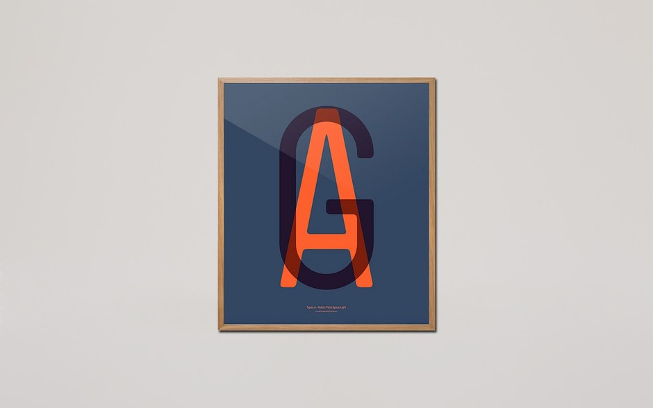 Playtype In Love With Typography Poster AG – VooStore