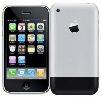 Apple-iphone-1st-First-generation-phone-2007-first-ever-appearance-of-iPhone-in-this-world.jpg 329×312 ピクセル