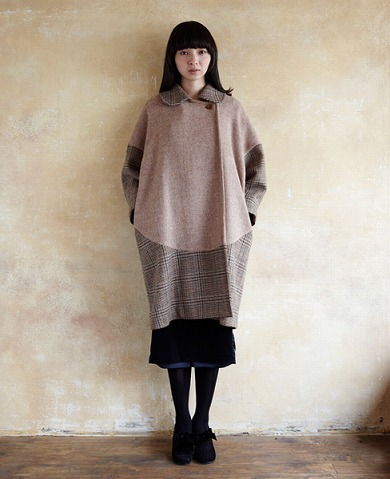 COSMIC WONDER Light SourceHARRIS TWEED TAILORED COAT コート Palm maison store