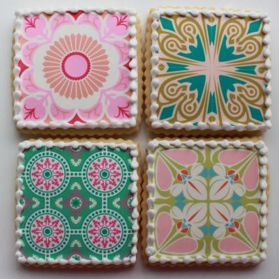 Whipped Bakeshop Philadelphia: Pattern 12-Cookie Gift Box | Whipped Bakeshop
