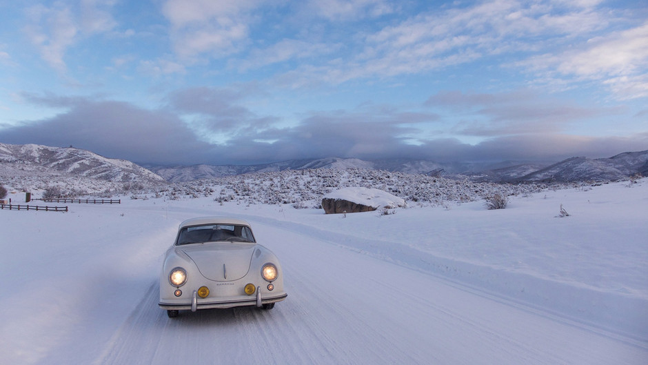 Pre-A Porsche 356 Runs Great in the Wintry Rockies | Petrolicious