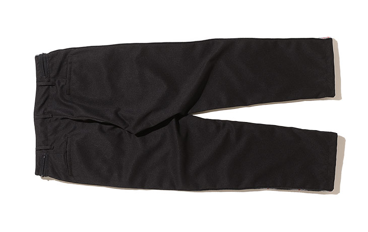 AiE/MB Pant-Polyester Dry Serge-Black