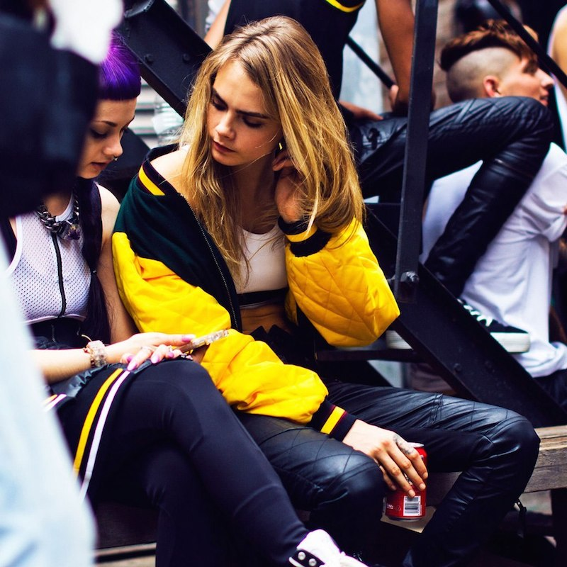 Cara Delevingne for DKNY Capsule Collection Campaign – NAWO
