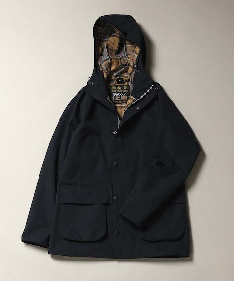 BARBOUR / バブアー別注 : POLYESTER 2 LAYERS FABRIC HOODED|JOURNAL STANDARD(ジャーナルスタンダード)公式のファッション通販|【18020610005030】- BAYCREW'S STORE