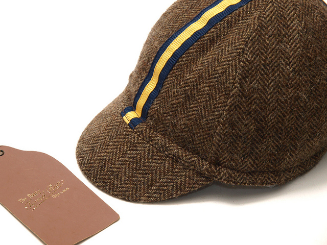 Rugby / Herringbone Cycling Cap [Tweed Run] | Flickr - Photo Sharing!