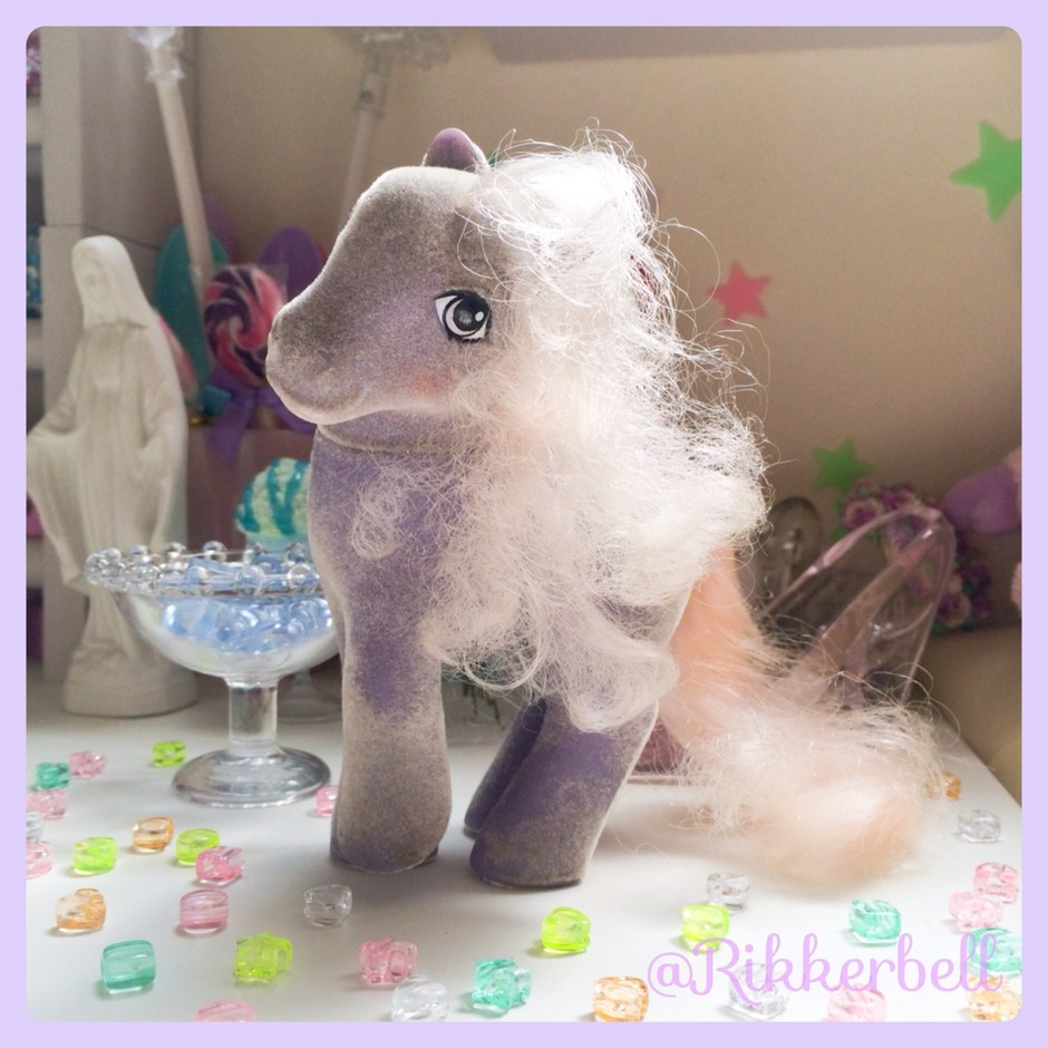 My Little Pony G1 Candle So Soft Ponies - plamode