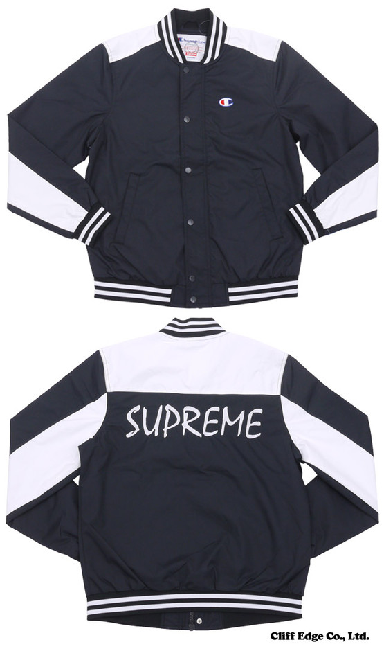 【楽天市場】SUPREME Champion Warm-Up Jacket (ジャケット) BLACK 225-000183-031+【新品】【smtb-TD】【yokohama】:Cliff Edge