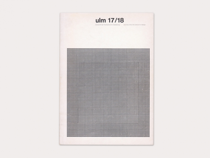 Display   Journal of the Ulm School for Design 17/18   Collection
